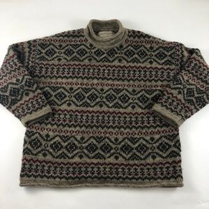 Abercrombie Fitch The Big Sweater Vintage Wool